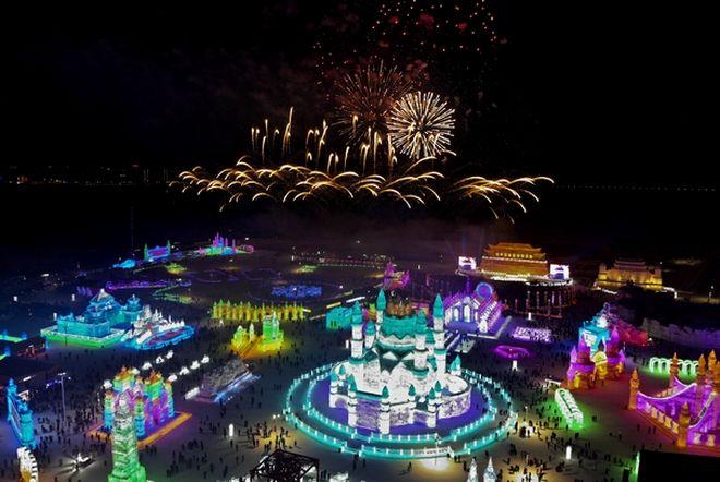 Κίνα: Το μεγαλύτερο Φεστιβάλ Πάγου και Χιονιού