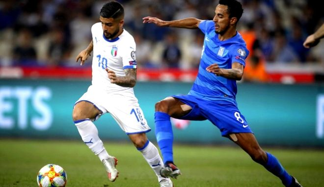 EURO 2020 / ΠΡΟΚΡΙΜΑΤΙΚΑ / ΕΛΛΑΔΑ - ΙΤΑΛΙΑ (ΦΩΤΟΓΡΑΦΙΑ: EUROKINISSI)