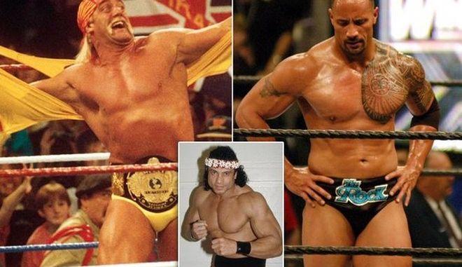 O Rock και ο Hulk Hogan λένε αντίο στον θρυλικό Jimmy 'Superfly' Snuka