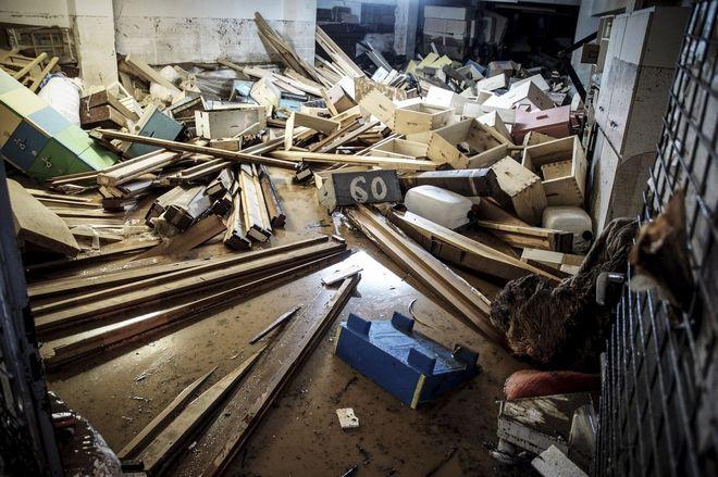 Σοβαρές ζημιές προκλήθηκαν τα ξημερώματα του Σαββάτου 2 Δεκεμβρίου 2017, στον Λούρο στην Πρέβεζα, μετά την υπερχείλιση του ποταμού, ενώ αρχικά προκλήθηκε αναστάτωση μιας και πολλοί ήταν εκείνοι που εγκλωβίστηκαν στα σπίτια τους.  (EUROKINISSI/ΓΙΩΡΓΟΣ ΕΥΣΤΑΘΙΟΥ)