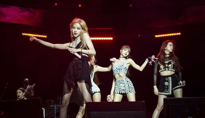 Το κορυφαίο γυναικείο συγκρότημα της K-pop, Blackpink