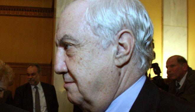 Γενική Συνέλευση των Μετόχων της Τράπεζας της Ελλάδος την Πέμππτη 27 Φεβρουαρίου 2014, όπου παρουσιάστηκε η έκθεση του διοικητή Γ. Προβόπουλου για το έτος 2013. (EUROKINISSI/ΤΑΤΙΑΝΑ ΜΠΟΛΑΡΗ)