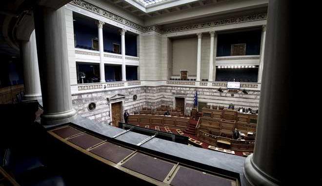 Συζήτηση επίκαιρων ερωτήσεωνσ την Ολομέλεια της Βουλής την Δευτέρα 27 Νοεμβρίου 2017. (EUROKINISSI/ΓΙΩΡΓΟΣ ΚΟΝΤΑΡΙΝΗΣ)