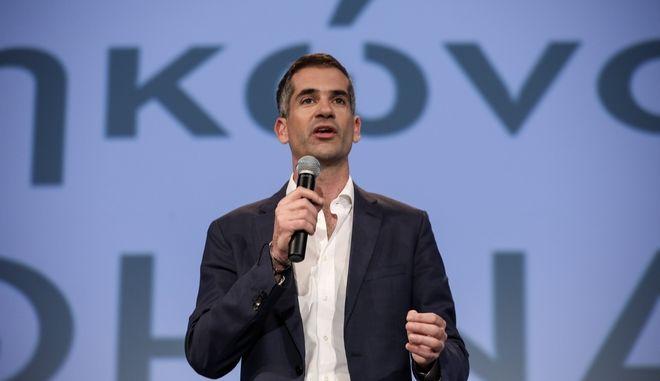 Ο νικητής του πρώτου γύρων των δημοτικών εκλογών στην Αθήνα Κώστας Μπακογιάννης