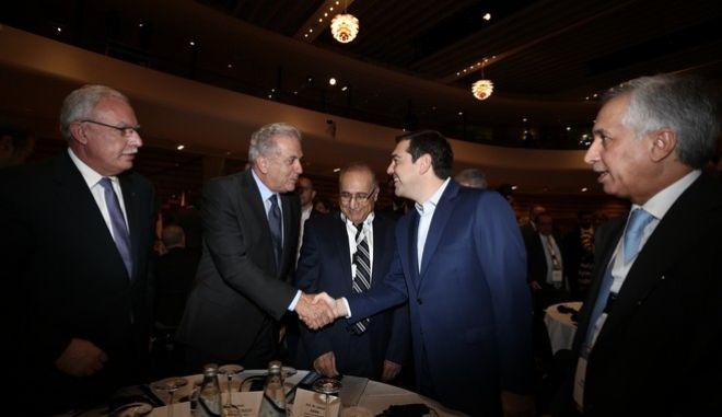 EU-Arab World Summit, Athens, Greece on November 3, 2016. /  , , 3  2016.