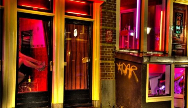 Amsterdam Red Light District, Netherlands