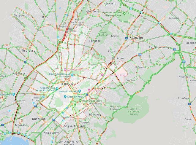Κίνηση στους δρόμους: Οδηγοί σε απόγνωση - Στα