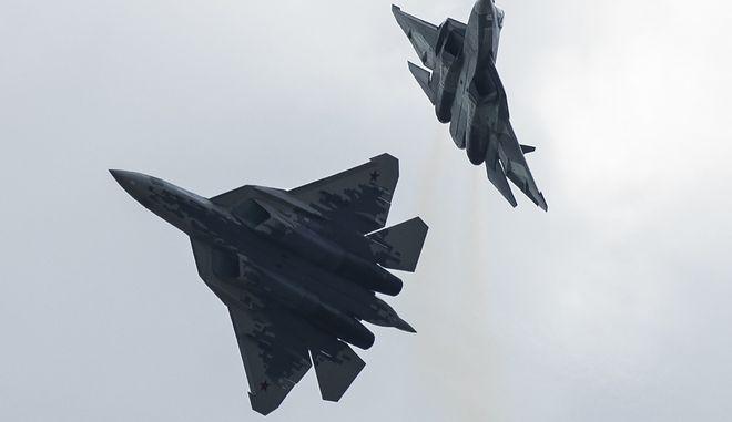 Αερομαχίες στη Ρωσία