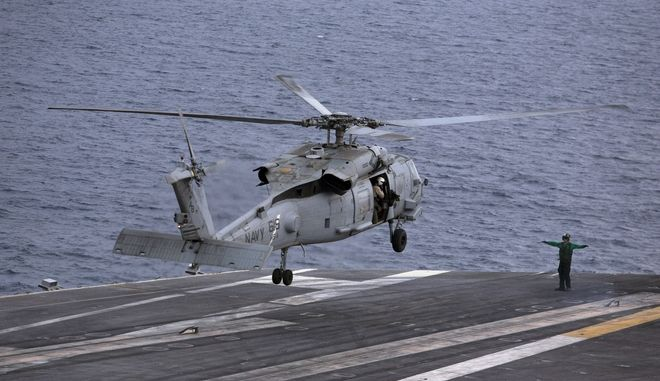 Ελικόπτερα του πολεμικού ναυτικού των ΗΠΑ - φωτογραφία αρχείου