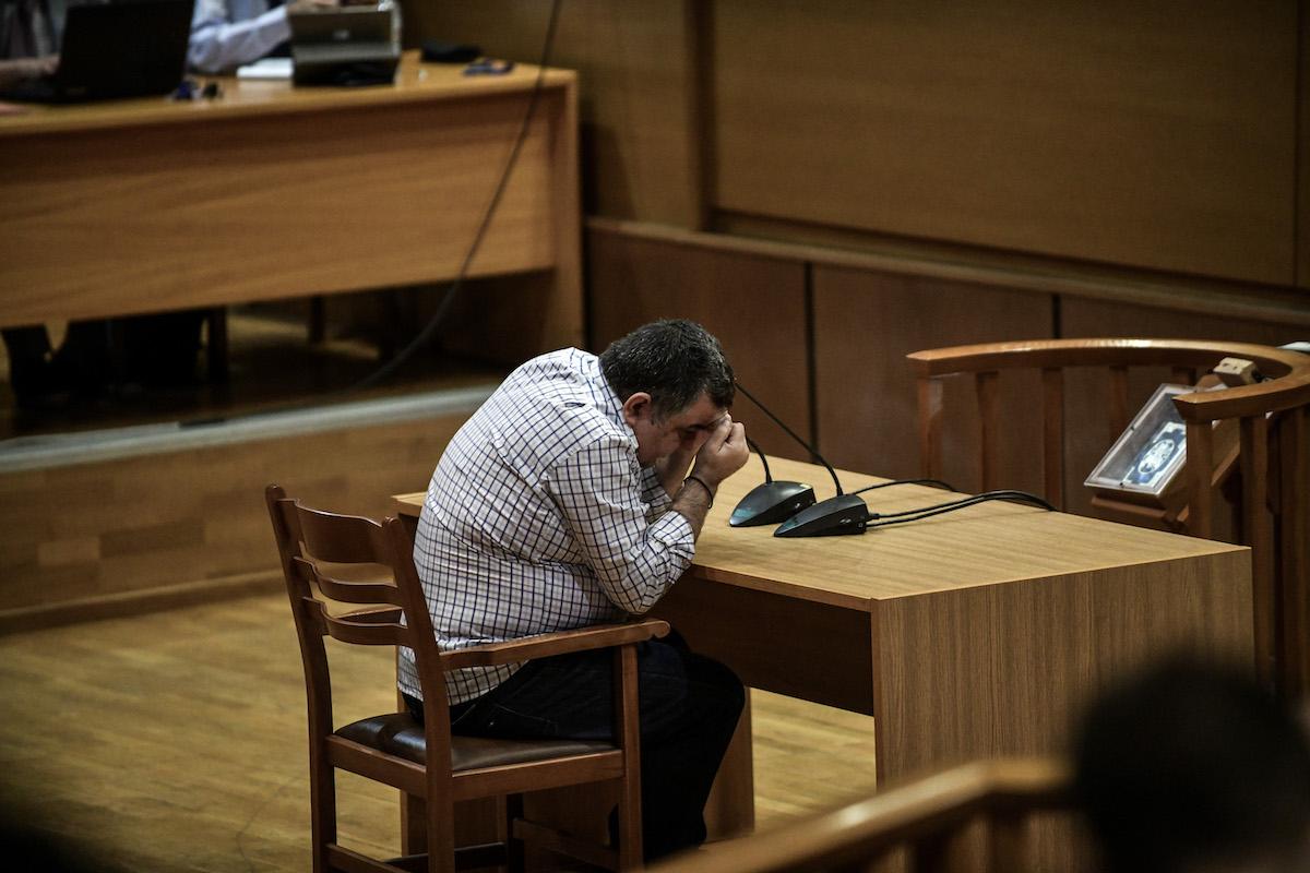 Απολογία του καθ' ομολογία δολοφόνου, Γιώργου Ρουπακιά για τη δολοφονία του Παύλου Φύσσα, στην δίκη της