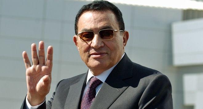 Ο Χόσνι Μουμπάρακ