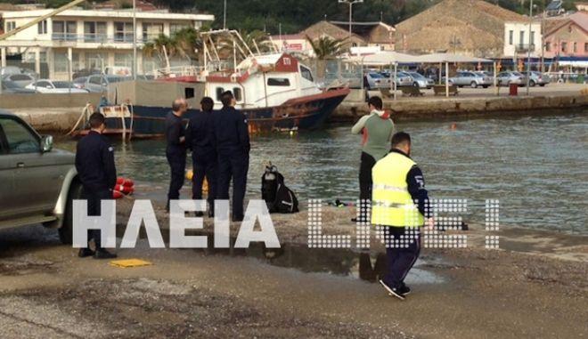 Νεκρός ο 25χρονος που παρασύρθηκε από κάβο πλοίου