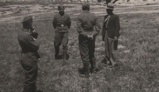 Γερμανοί στρατιώτες στην Αθήνα.