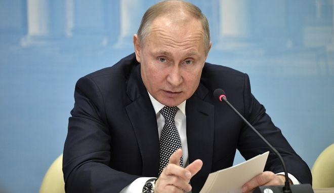 Ο Ρώσος πρόεδρος, Βλαντιμίρ Πούτιν (Φωτογραφία αρχείου)