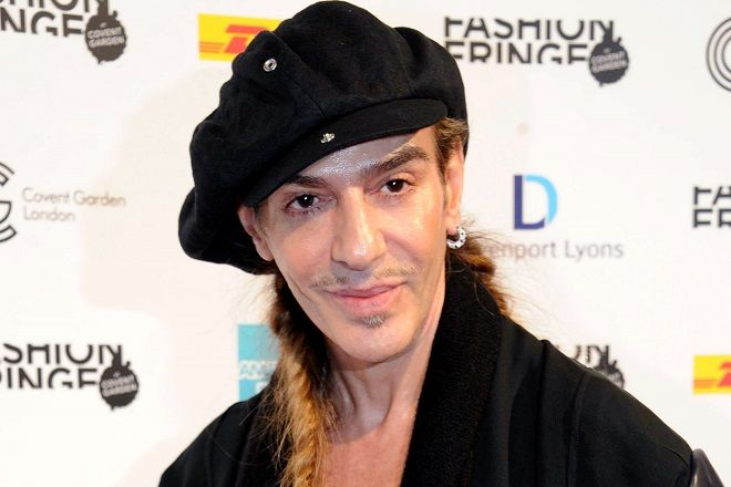 North America Sales Only-London, England - 9/18/10  John Galliano's Fashion Fringe 1226730  -PICTURED: John Galliano -PHOTO by: Richard Young/startraksphoto.com -RY37524  Startraks Photo New York, NY For licensing please call 212-414-9464 or email sales@startraksphoto.com   Event # 3A64FC6F91 Picture # 3A64FC6F001