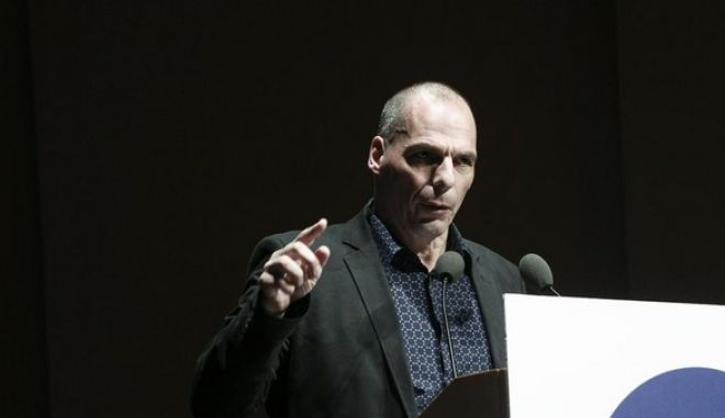 Yanis Varoufakis at Extraordiary Economic Forum, in Athens, on May 19, 2015 /       ,  ,  19 , 2015