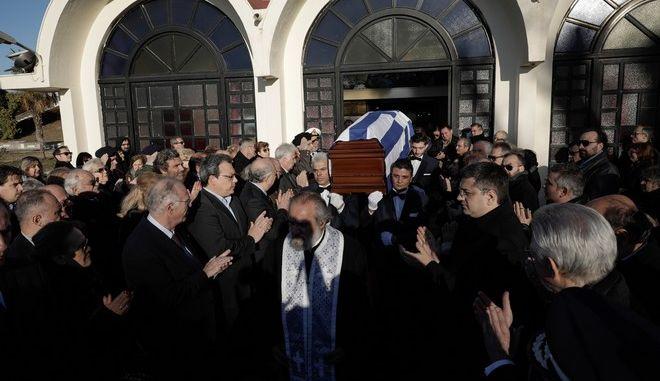 Funeral of Greeces Ambassador to Brazil Kyriakos Amiridis in Thessaloniki, Greece on January 15, 2017. /             , , , 15  2017.