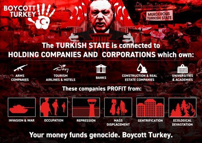 Τουρκία: Το μποϊκοτάζ από τους Άραβες φέρνει νέους