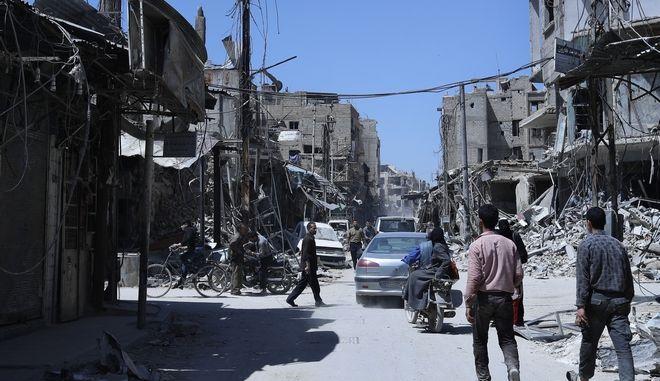 Οι επιθεωρητές του ΟΑΧΟ συνέλεξαν δείγματα από τη Ντούμα