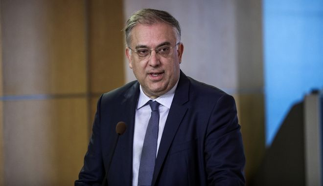Ο υπουργός Εσωτερικών Τάκης Θεοδωρικάκος
