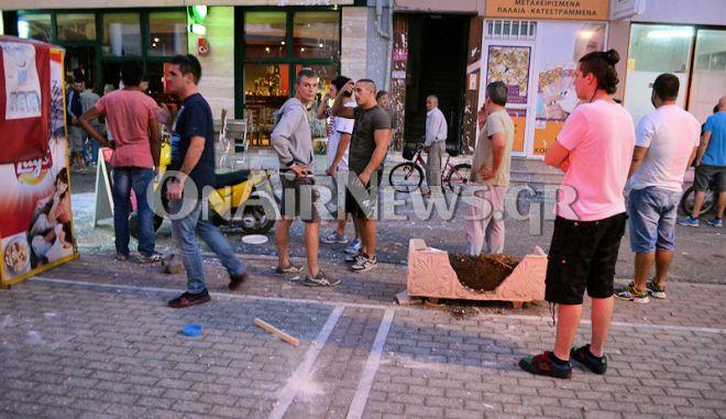 Συμπλοκή οπαδών στο Μεσολόγγι: Σε σοβαρή κατάσταση ο 23χρονος. Περισσότερες από 20 προσαγωγές