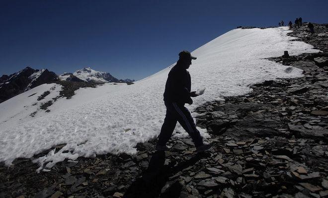 Άνδεις Βολιβίας- λιώσιμο πάγων