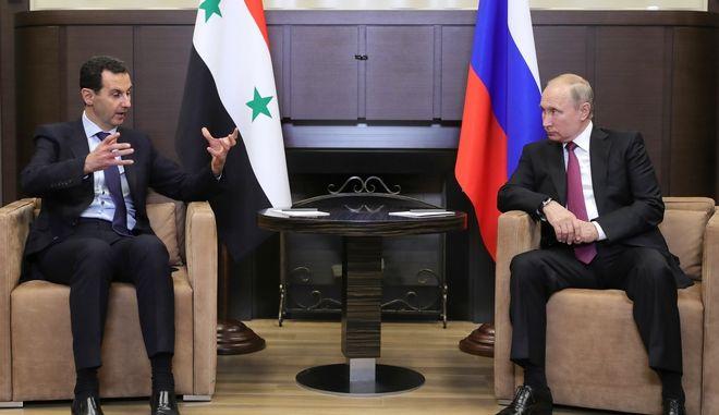 Συνάντηση Πούτιν-Άσαντ