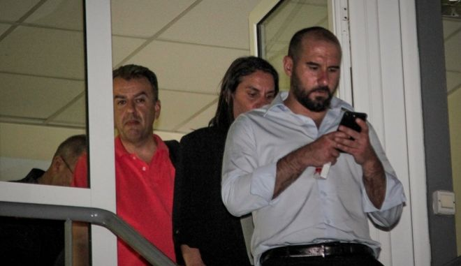 Ο κυβερνητικός εκπρόσωπος, Δημήτρης Τζανακόπουλος στο κέντρο επιχειρήσεων της πυροσβεστικής στο Χαλάνδρι, Δευτέρα 23 Ιουλίου 2018