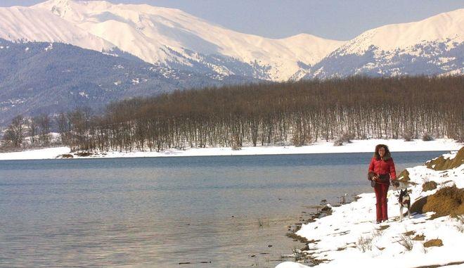 Η λίμνη Πλαστήρα στην Καρδίτσα