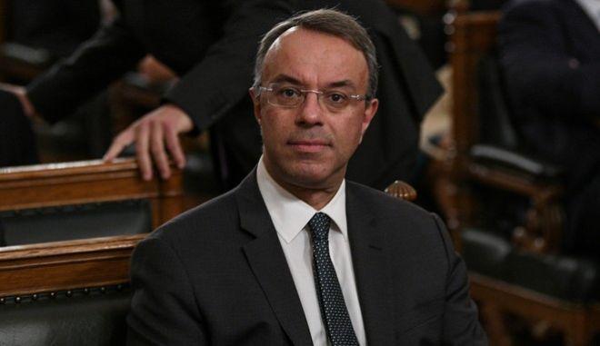 O υπουργός Οικονομικών Χρήστος Σταϊκούρας