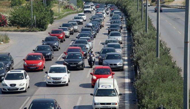 Αυτοκίνητα στο δρόμο