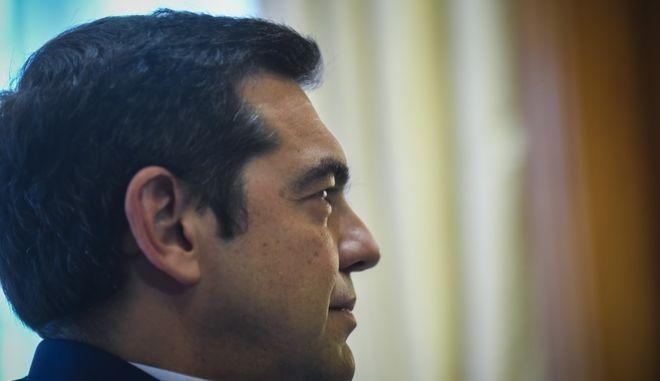 Ο πρωθυπουργός ΑλέξηςΤσίπρας