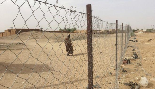 Μια γυναίκα στον Νίγηρα.