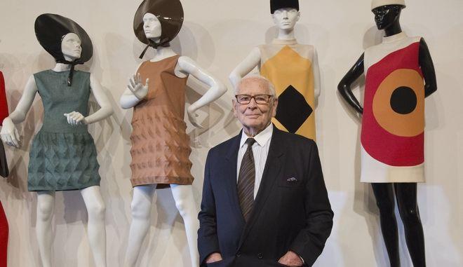 Ο θρυλικός Γάλλος σχεδιαστής μόδας Πιερ Καρντέν