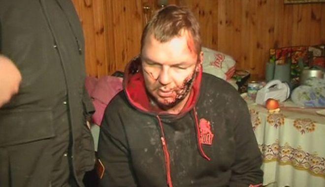 Σε κατ΄οίκον περιορισμό ο Ουκρανός ακτιβιστής που είχε απαχθεί και βασανιστεί