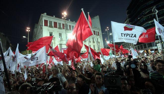Ο πάσχων, διεγέρτης λόγος του ΣΥΡΙΖΑ και τα βεγγαλικά της εναντιωτικής φαντασμαγορίας