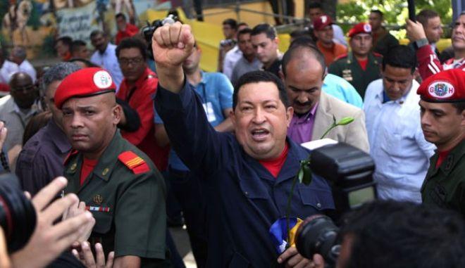 Νίκη Τσάβες στις εκλογές της Βενεζουέλας