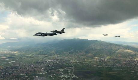 Αναχαίτιση τουρκικών F-16