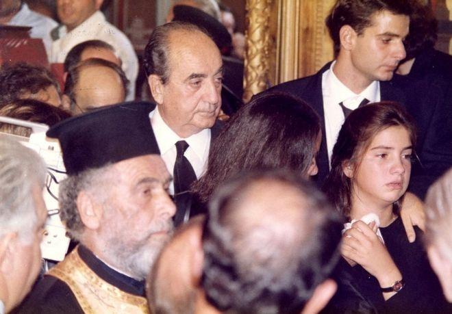 Κηδεία Π. Μπακογιάννη, 29/9/1989