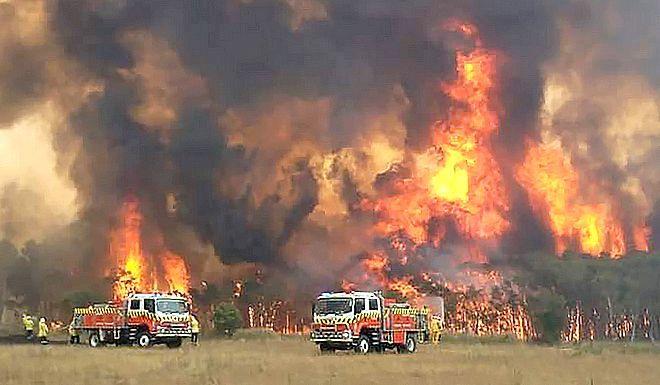 Οι φωτιές μαίνονται στην Αυστραλία