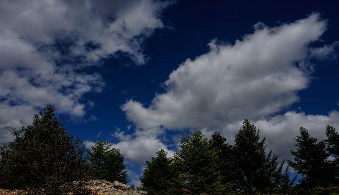 Σύννεφα στην Αττική