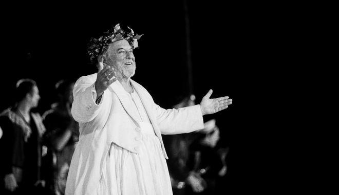Η σορός του Κώστα Βουτσά τέθηκε σε λαϊκό προσκύνημα στο παρεκκλήσι της Μητρόπολης Αθηνών, την Πέμπτη 27 Φεβρουαρίου 2020.