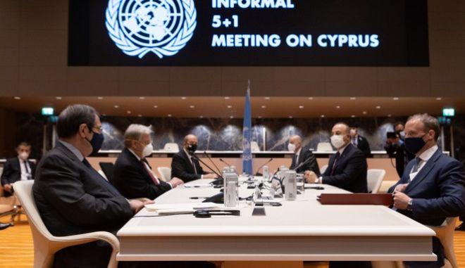 Άτυπη Πενταμερής για το Κυπριακό, υπό τον ΓΓ του ΟΗΕ