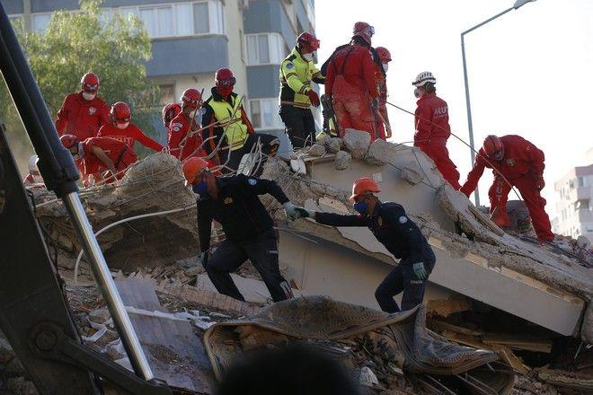 Επιχείρηση διάσωσης στη Σμύρνη