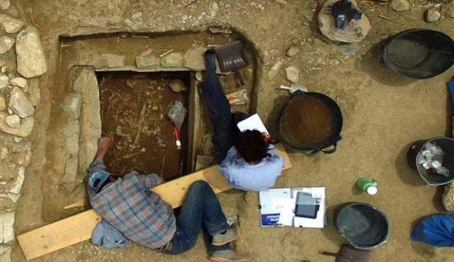 Μαραθώνας: Ο Τάφος του πολεμιστή των μυκηναϊκών χρόνων