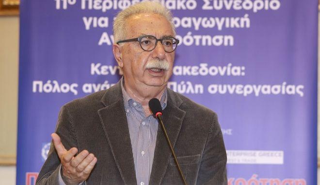 Ο υπουργός Παιδείας Κώστας Γαβρόγλου