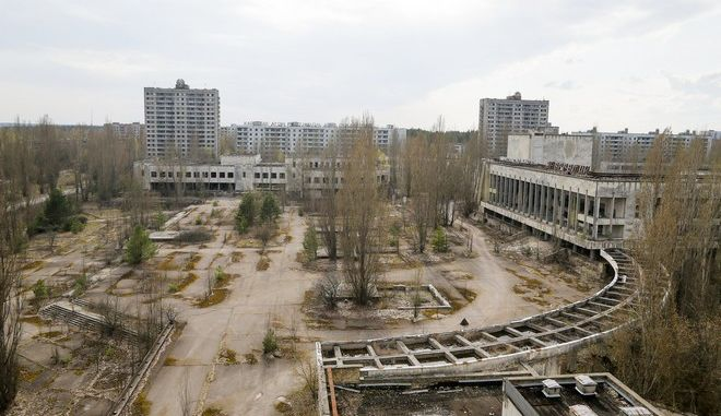 Η σημερινή πόλη Pripyat