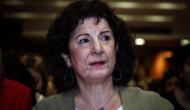 Η Γενική Γραμματέας Ισότητας των Φύλων, Φωτεινή Κούβελα