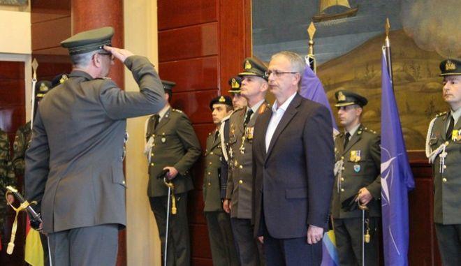 Ο αναπληρωτής υπουργός Άμυνας, Παναγιώτης Ρήγας