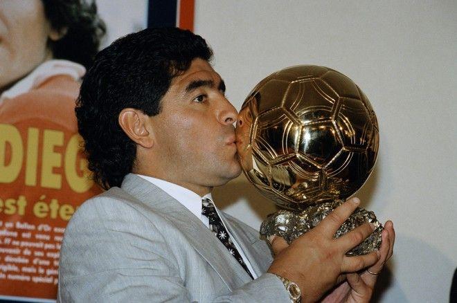 Ο Ντιέγκο Μαραντόνα, 19870